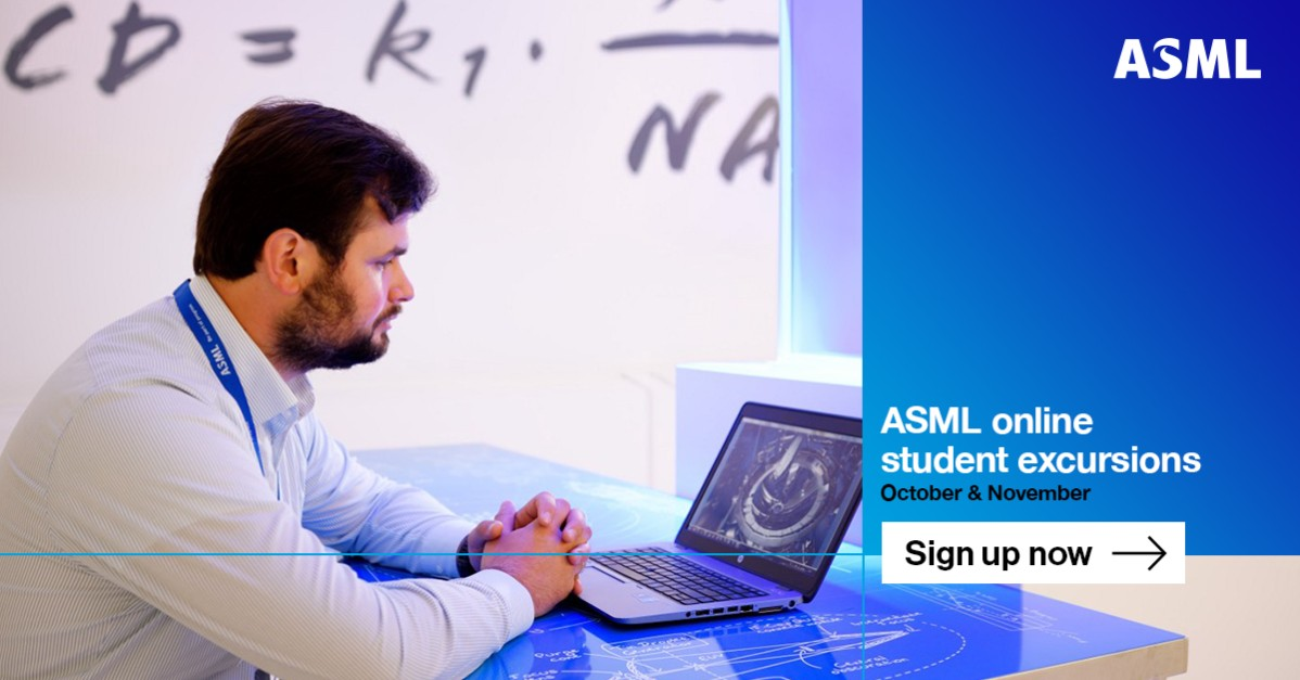Sign up for ASML student excursions!